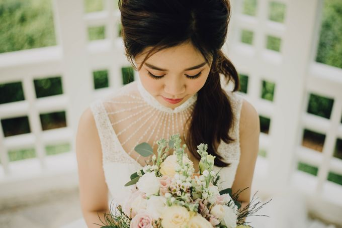 Beauty and the Beast Garden Wedding by Blossoms Bridal & Occasions - 031