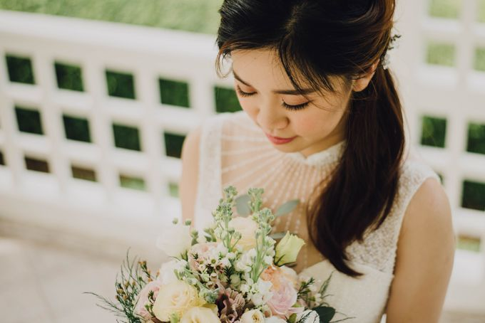 Beauty and the Beast Garden Wedding by Blossoms Bridal & Occasions - 032