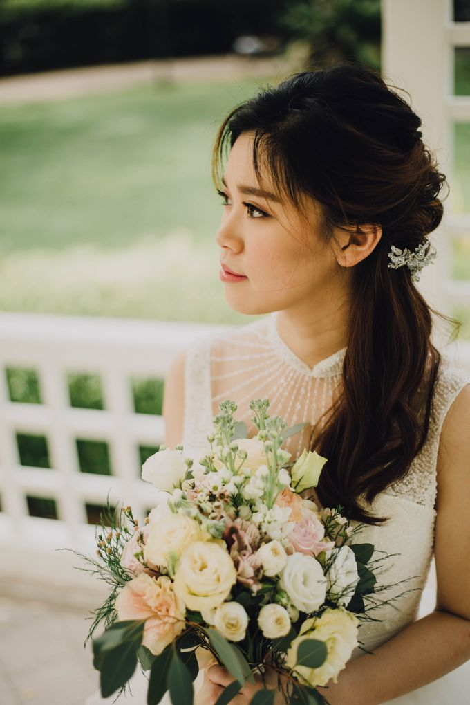 Beauty and the Beast Garden Wedding by Blossoms Bridal & Occasions - 033