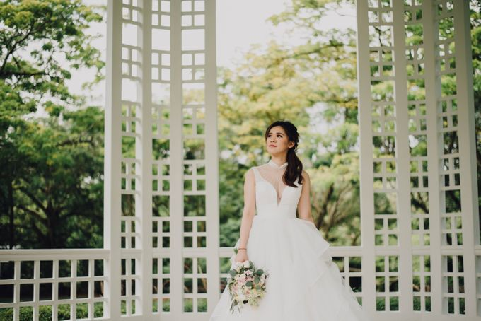 Beauty and the Beast Garden Wedding by Blossoms Bridal & Occasions - 034