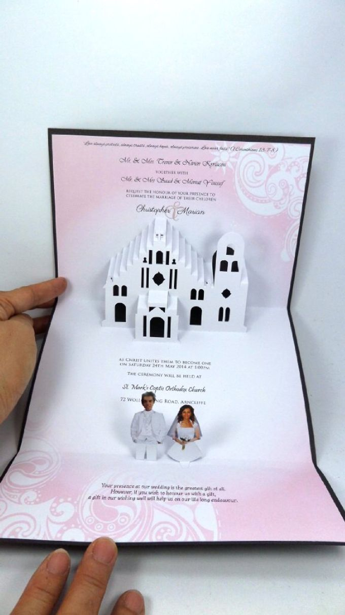 Pop Up Church Invitation by Pop Up Occasions - 002