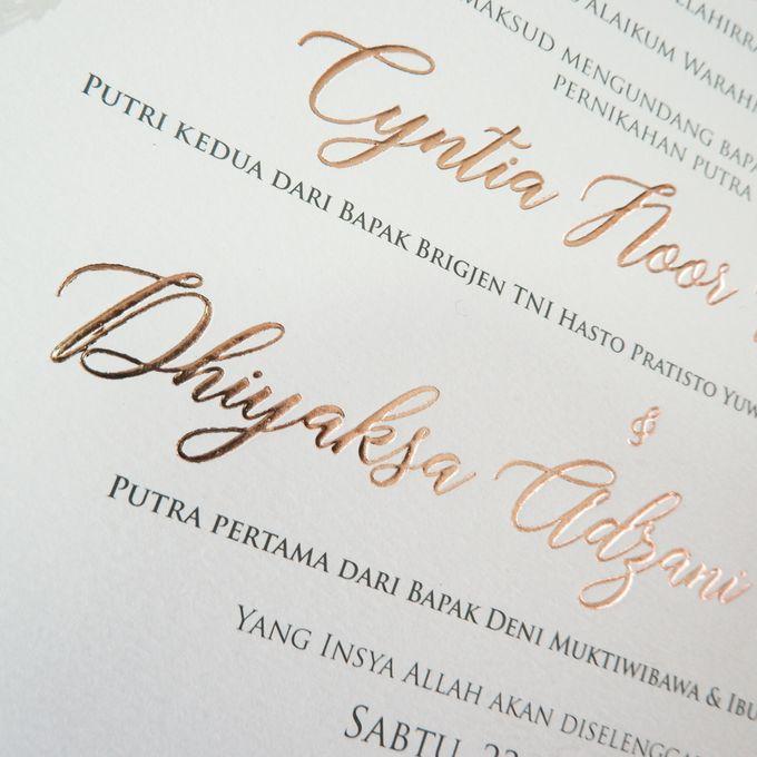 Cici & Didit by Meltiq Invitation - 003