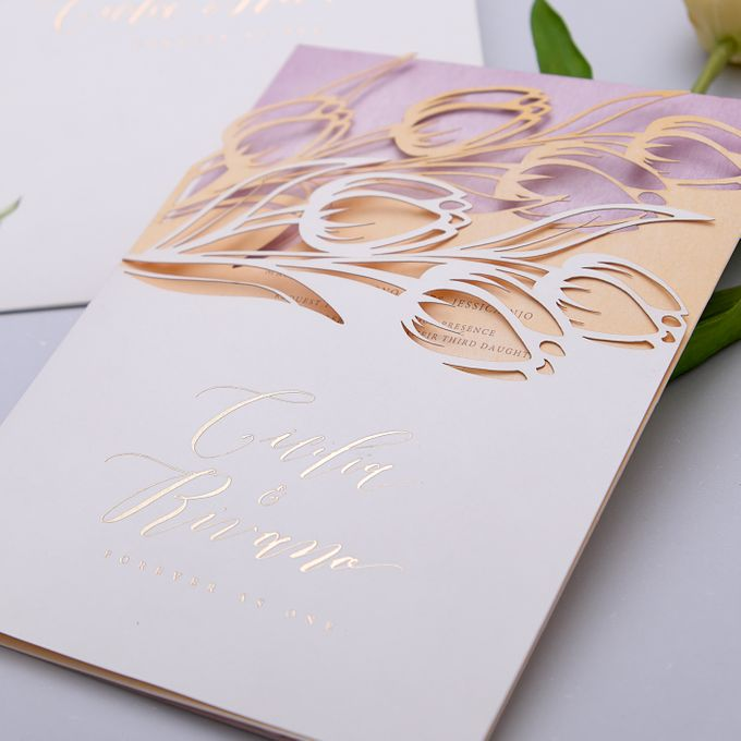 TULIPS IN SPRING by BloomingDays Invitation Studio - 002