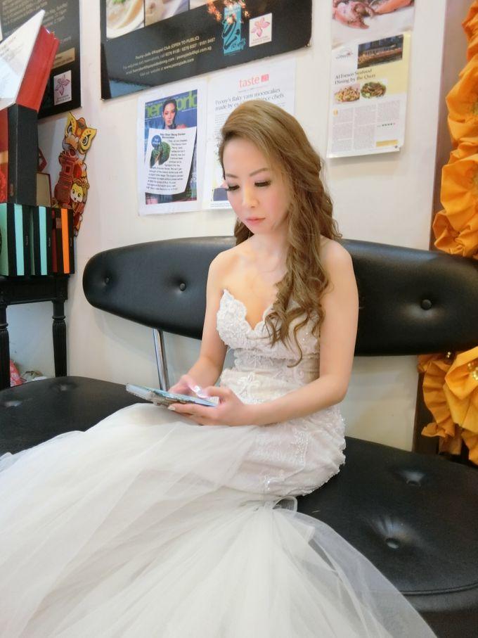kuala lumpur Lynn Wedding Day by Stephy Ng Makeup and Hair - 004