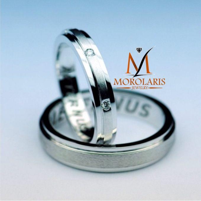 wedding ring simple by Morolaris Jewelry - 006