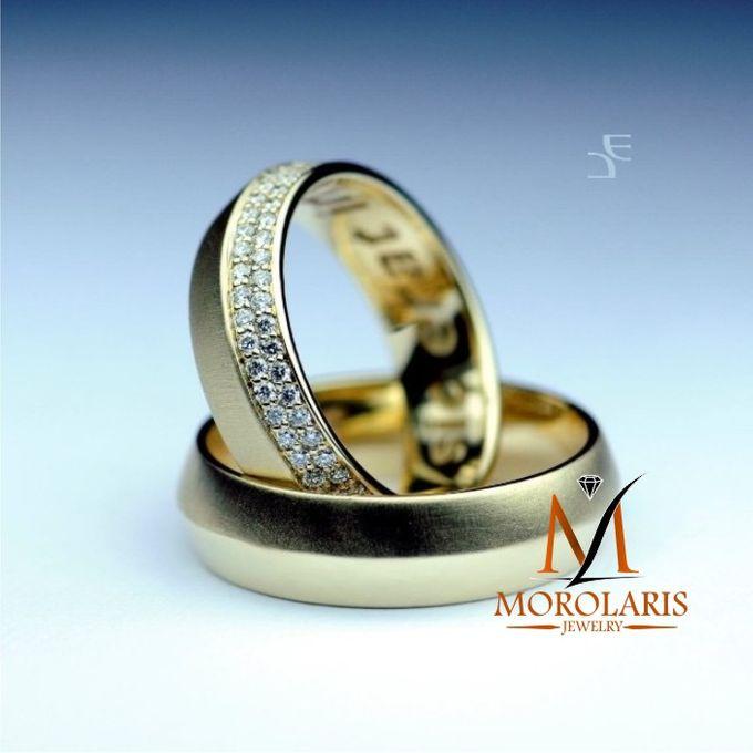 wedding ring simple by Morolaris Jewelry - 005