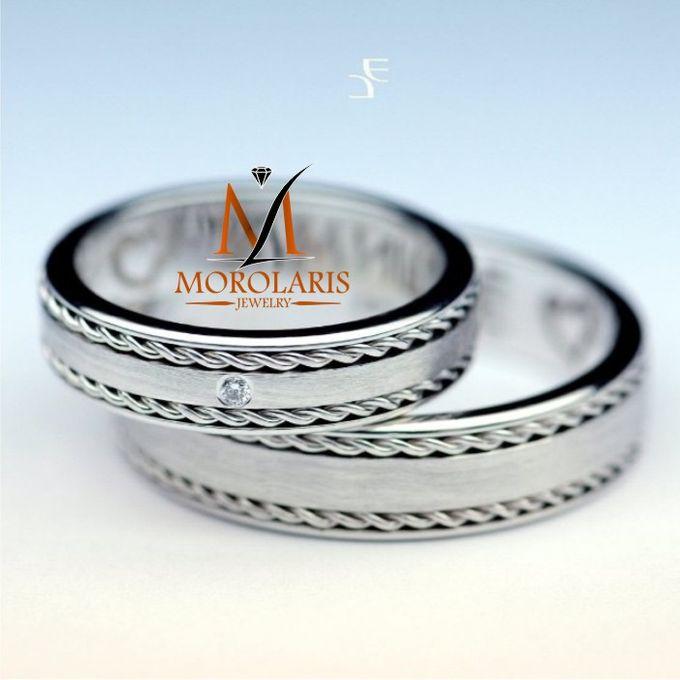 wedding ring simple by Morolaris Jewelry - 007