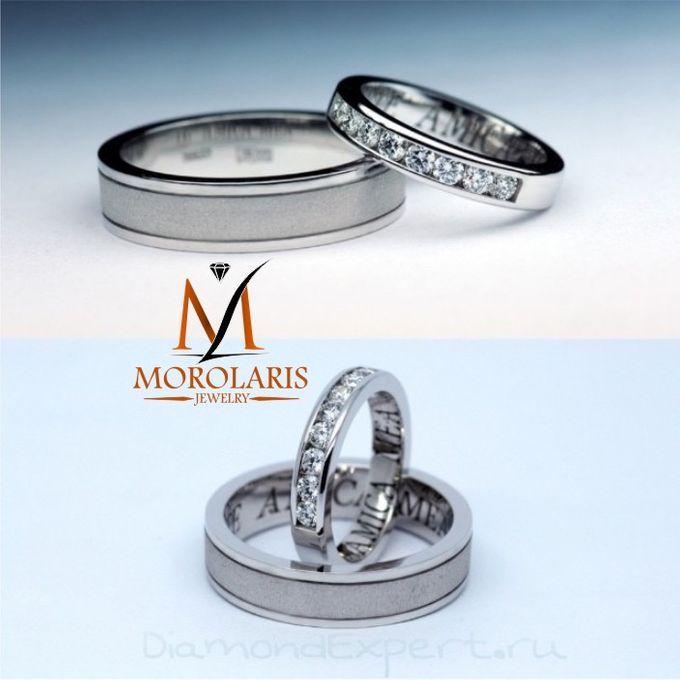 wedding ring simple by Morolaris Jewelry - 008