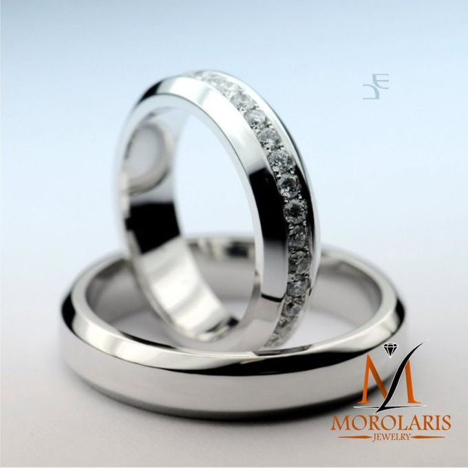 wedding ring simple by Morolaris Jewelry - 001