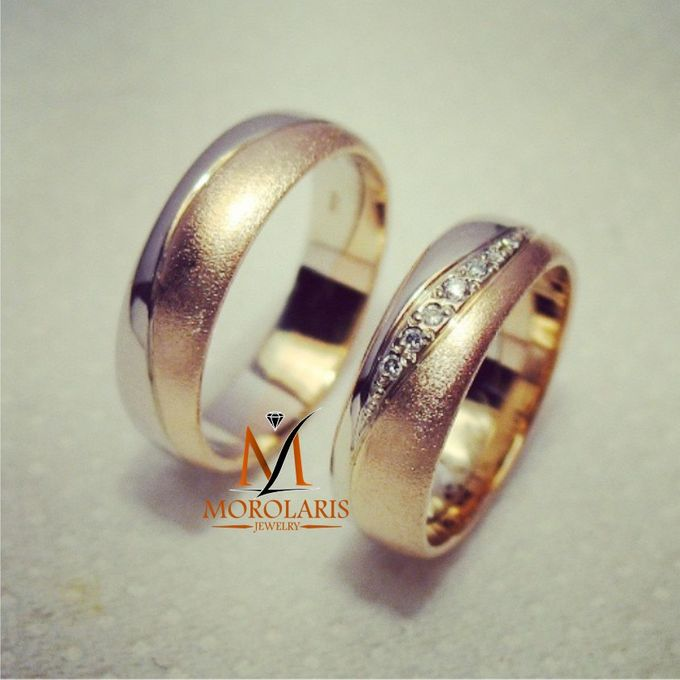 Couple Ring simple by Morolaris Jewelry - 002