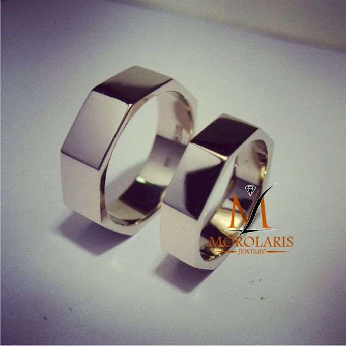 Couple Ring simple by Morolaris Jewelry - 003