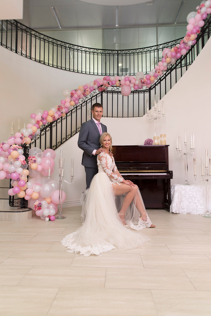 Staircase Balustrade by Cinders Balloons - 002