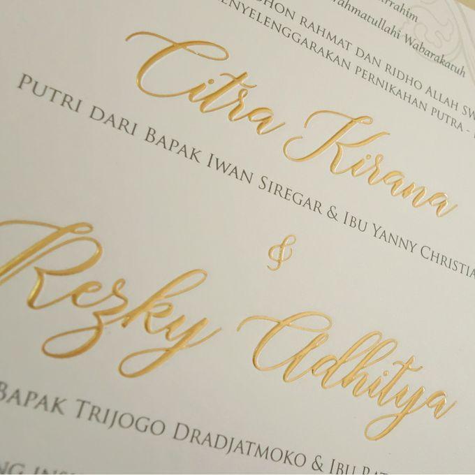 Citra Kirana & Rezky Adithya by Meltiq Invitation - 002