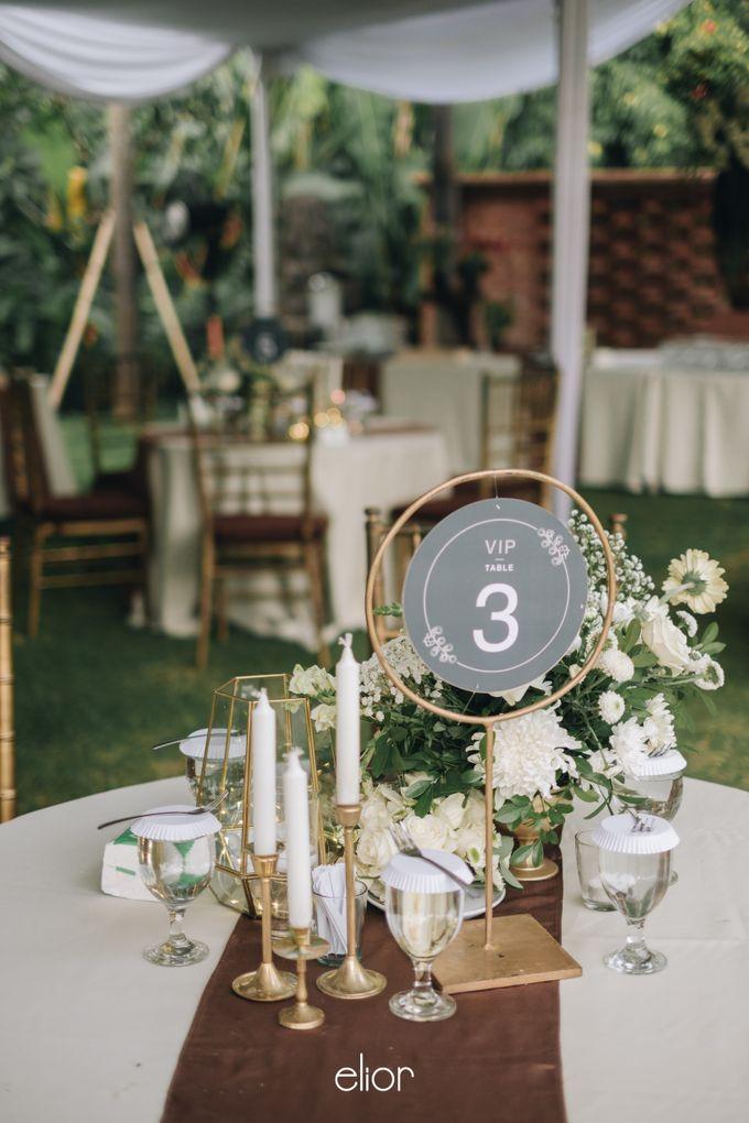 The Wedding of Citra & Deri by Elior Design - 018