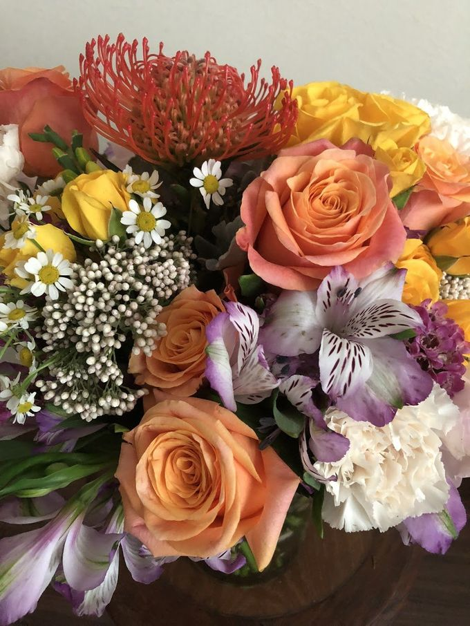 Enchant in Bold Colors Bouquet by Flourish by Charlene - 001