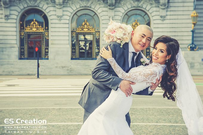 San Francisco destination wedding by ES Creation Photography - 003