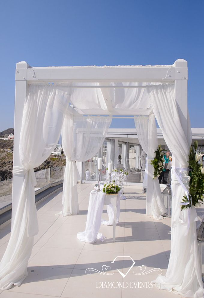 Santorini wedding by Diamond Events - 002