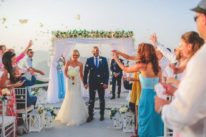 An elegant off white and peach wedding by MarrymeinGreece - 002