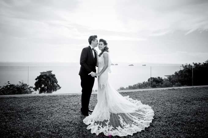 Carene & Justin the romantic wedding at Conrad Samui by BLISS Events & Weddings Thailand - 007
