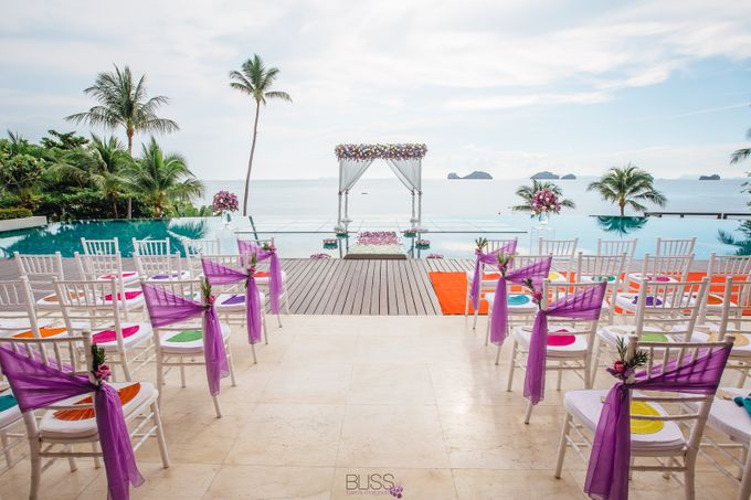 Carene & Justin the romantic wedding at Conrad Samui by BLISS Events & Weddings Thailand - 008