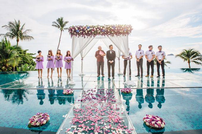 Carene & Justin the romantic wedding at Conrad Samui by BLISS Events & Weddings Thailand - 010