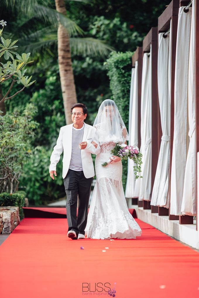 Carene & Justin the romantic wedding at Conrad Samui by BLISS Events & Weddings Thailand - 011