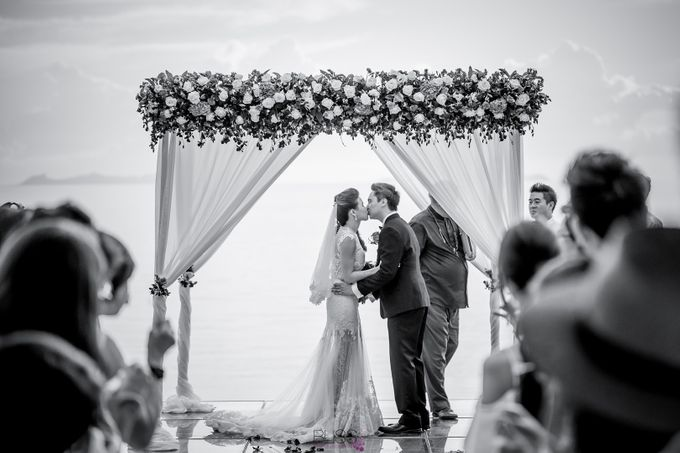Carene & Justin the romantic wedding at Conrad Samui by BLISS Events & Weddings Thailand - 014