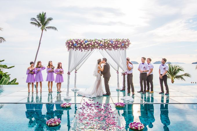 Carene & Justin the romantic wedding at Conrad Samui by BLISS Events & Weddings Thailand - 015