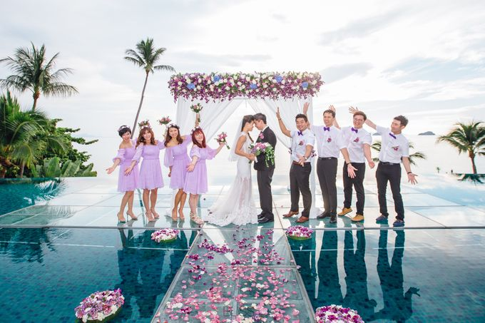 Carene & Justin the romantic wedding at Conrad Samui by BLISS Events & Weddings Thailand - 017