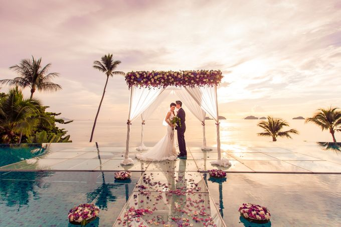 Carene & Justin the romantic wedding at Conrad Samui by BLISS Events & Weddings Thailand - 018