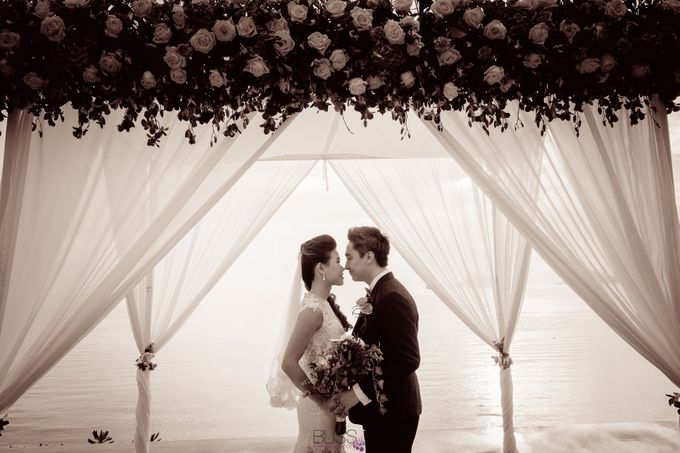 Carene & Justin the romantic wedding at Conrad Samui by BLISS Events & Weddings Thailand - 019