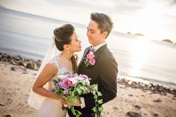 Carene & Justin the romantic wedding at Conrad Samui by BLISS Events & Weddings Thailand - 021