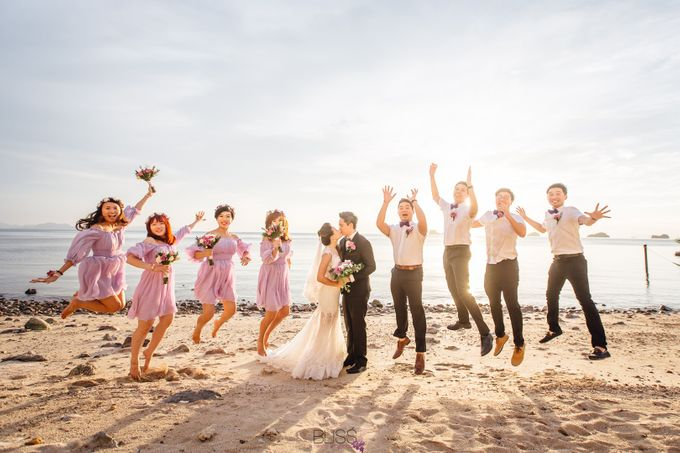 Carene & Justin the romantic wedding at Conrad Samui by BLISS Events & Weddings Thailand - 022