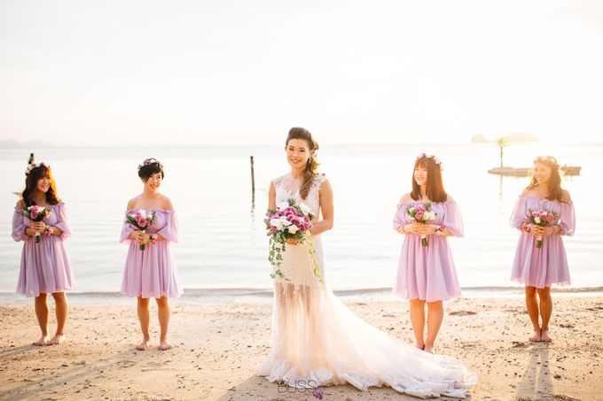 Carene & Justin the romantic wedding at Conrad Samui by BLISS Events & Weddings Thailand - 024
