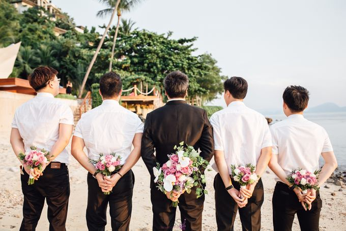 Carene & Justin the romantic wedding at Conrad Samui by BLISS Events & Weddings Thailand - 025