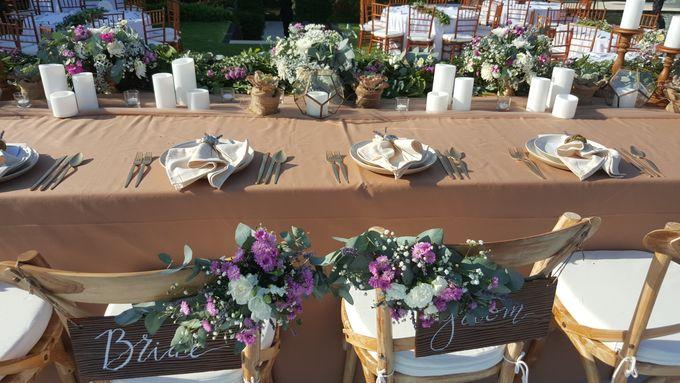 Sunset Garden Party by d'Oasis Florist & Decoration - 028