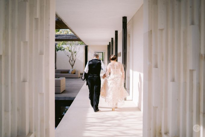 Ck & Quennezy -  Bali Wedding by Joe's Tailoring - 004