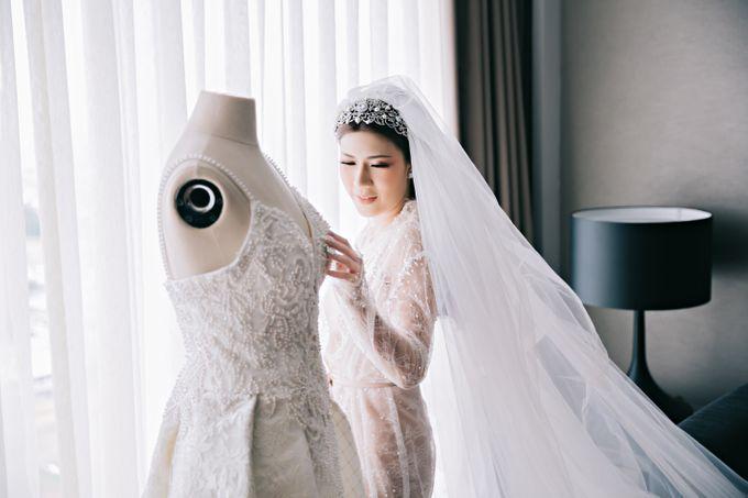 Wedding of Angga & Andrea by Treesia Makeup Artist - 016