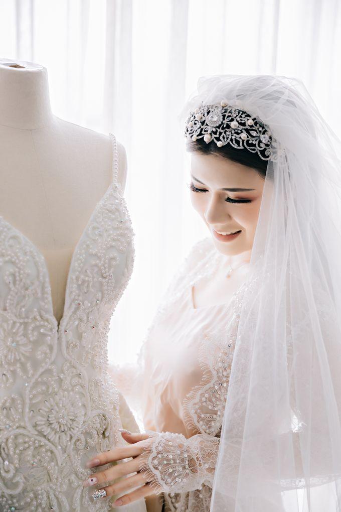 Wedding of Angga & Andrea by Treesia Makeup Artist - 017