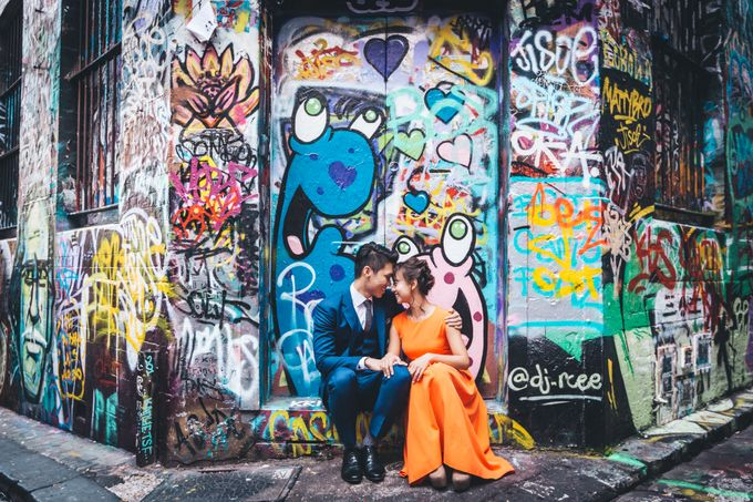[Video] Melbourne Prewedding by Darren and Jade Photography - 022