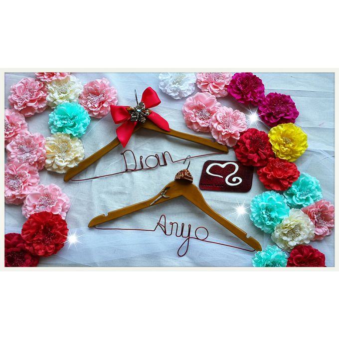 Wedding Hanger Name by Sweetlovecollection - 030