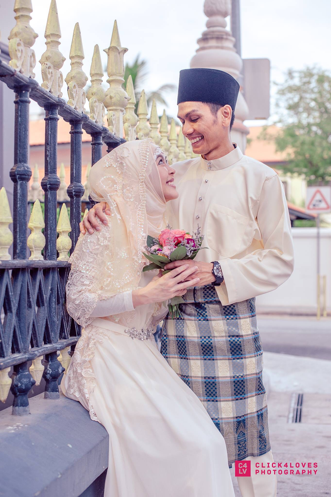 Malay Akad Nikah Wedding Ceremony by Click4Loves Photography - 003