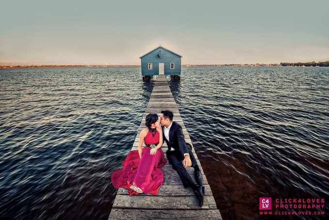 Perth Pre Wedding Photography by Click4Loves Photography - 001