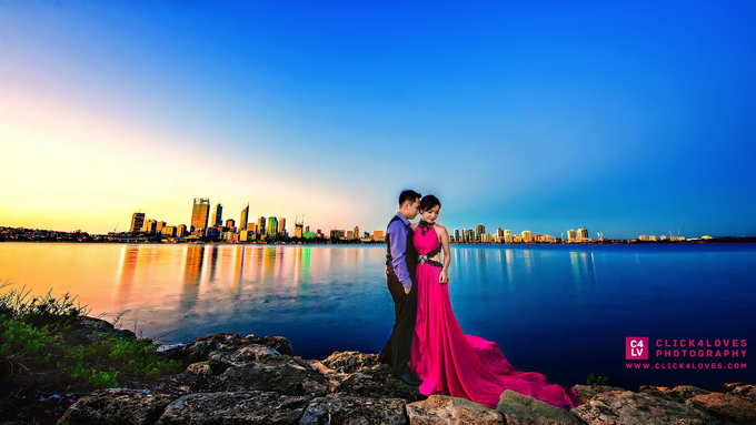 Perth Pre Wedding Photography by Click4Loves Photography - 005