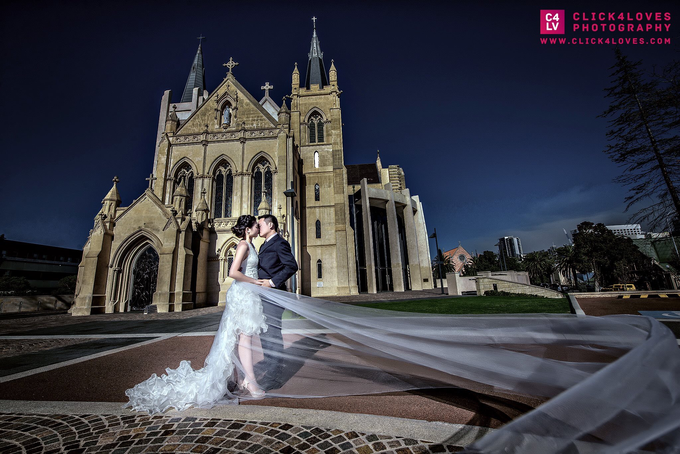 Perth Pre Wedding Photography by Click4Loves Photography - 003