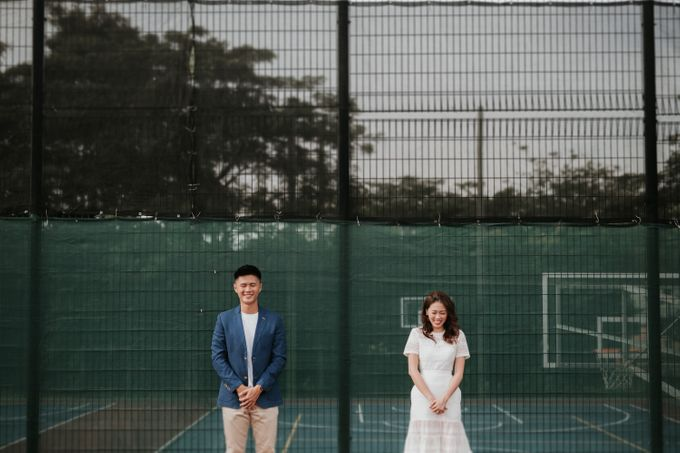 Clinton & Claire - Nanyang Polytechnic Engagement Shoot by Pixioo Photography - 004