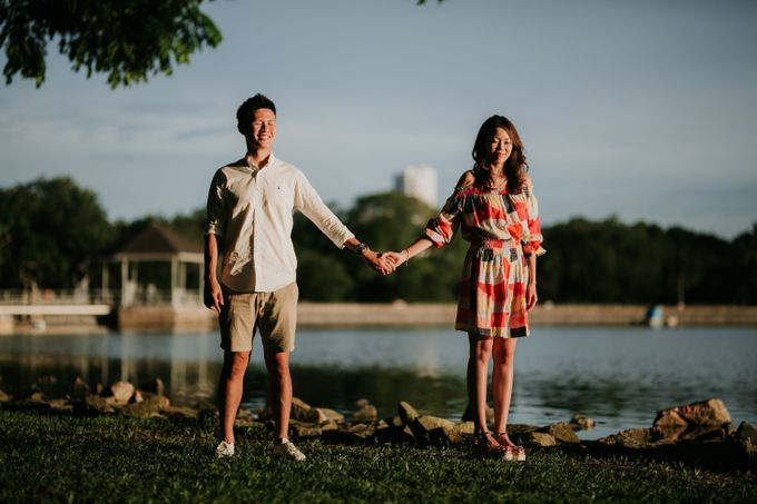 Clinton & Claire - Nanyang Polytechnic Engagement Shoot by Pixioo Photography - 044