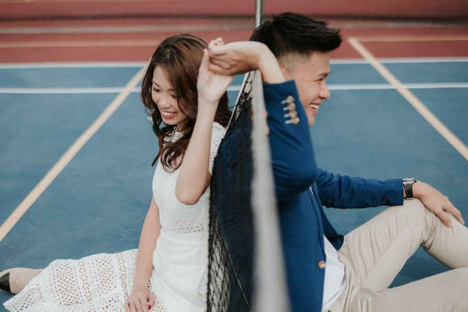 Clinton & Claire - Nanyang Polytechnic Engagement Shoot by Pixioo Photography - 009
