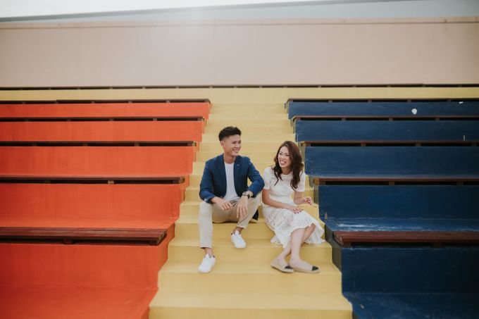 Clinton & Claire - Nanyang Polytechnic Engagement Shoot by Pixioo Photography - 020