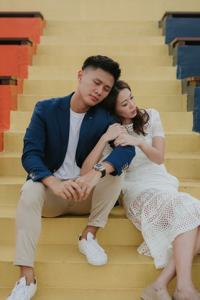 Clinton & Claire - Nanyang Polytechnic Engagement Shoot by Pixioo Photography - 022